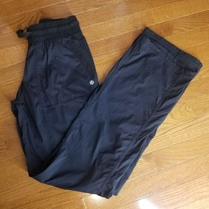 Lululemon Black Street to Studio pants Size 10